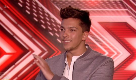 Is Matt Terry taking home the X Factor Prize?