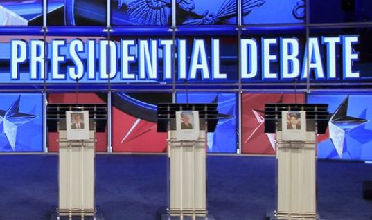 Hillary Clinton v Donald Trump debate on Monday: words to be said