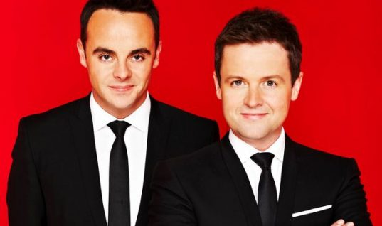 Ant and Dec Clean Up at 2017 National Television Awards