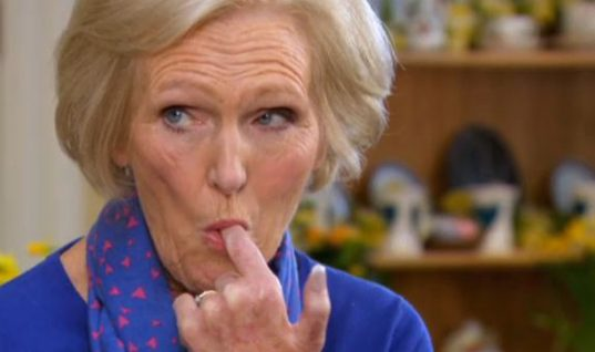 Great British Bake Off Host Mary Berry Rejects Strictly Come Dancing