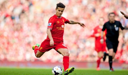Philippe Coutinho Signs Five-Year Deal to Become Liverpool's Best-Paid Player