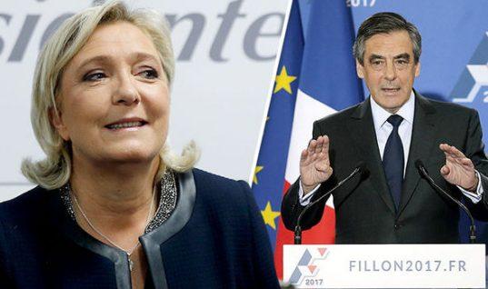 Francois Fillon Corruption Probe Hands Marine Le Pen French Election Boost