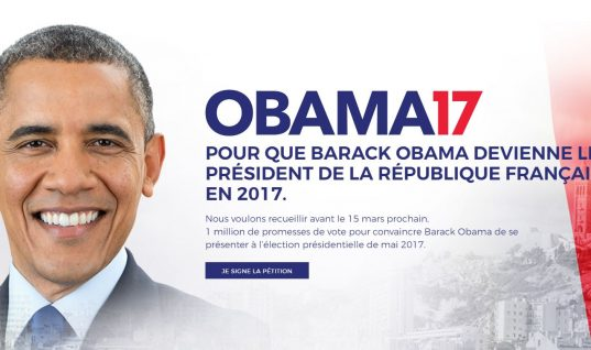 Petition Started to Have Barack Obama Contest French Election