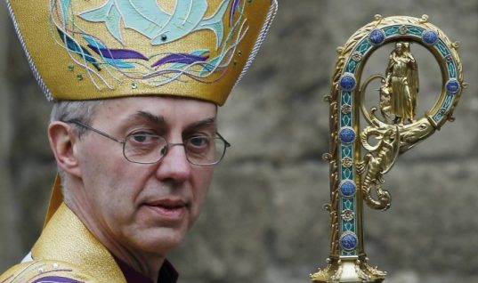 Archbishop of Canterbury Warns of Brexit Referendum Divisions