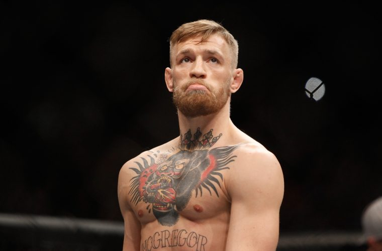 "Conor McGregor ""Ready to Shock the World"" in Floyd Mayweather Fight"