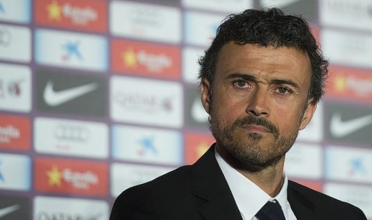 Who will replace Luis Enrique at Barcelona?