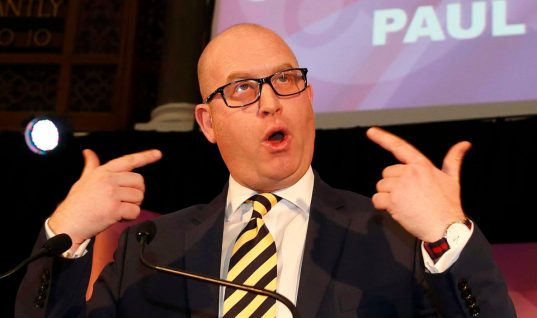 UKIP Leader Paul Nuttall Needs Time to Clean Up Party 'Mess'