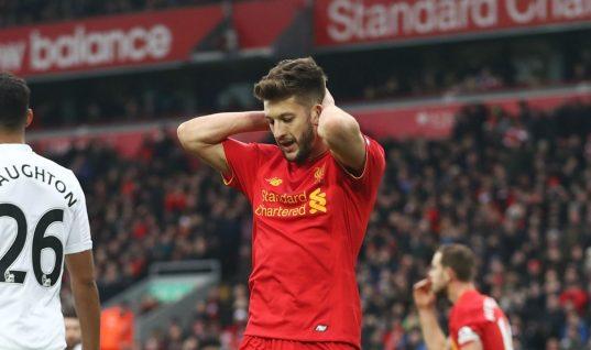 Bet365 Premier League Winner Odds: Liverpool Chances Hurt by Adam Lallana Injury