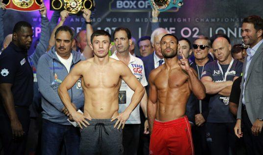 Sky Bet Boxing Odds: Kell Brook Backs Saul Alvarez to Beat Gennady Golovkin in Mega Fight