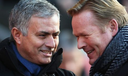 Sky Bet Premier League Odds: Ronald Koeman Hits Back At Mourinho's Claims Everton Targeting Top Four