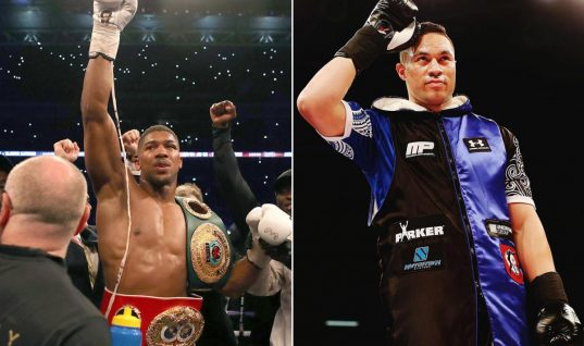 Paddy Power Boxing Odds: Joseph Parker Targets 'Golden Goose' Anthony Joshua