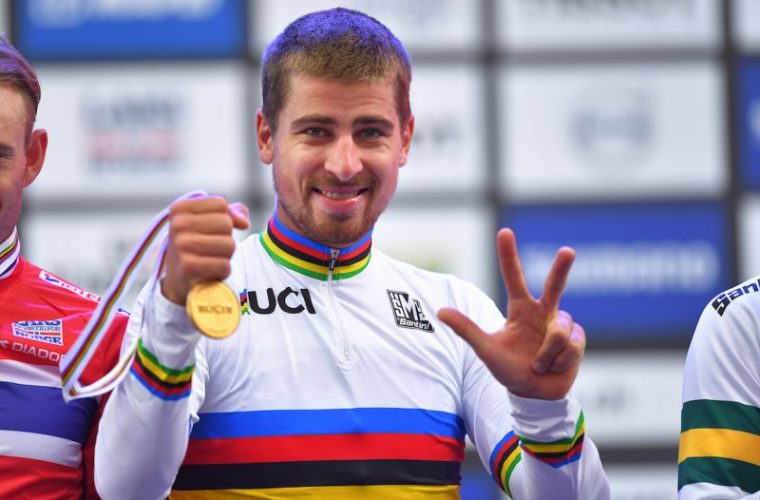 Peter Sagan Becomes First Man to Win Three Successive World Championship Road Race Titles