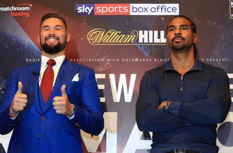 Sky Bet Boxing Odds: Tony Bellew Dismisses David Haye's 'Bank Robber' Comment Ahead of Rematch
