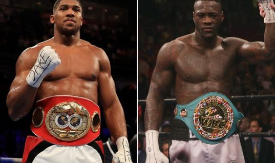 Ladbrokes Boxing Odds: Evander Holyfield Favours Anthony Joshua to Beat Deontay Wilder